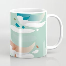 Whales fly in 1970 Coffee Mug