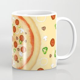Just Pizza Coffee Mug