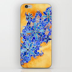 Blue Bouquet iPhone & iPod Skin