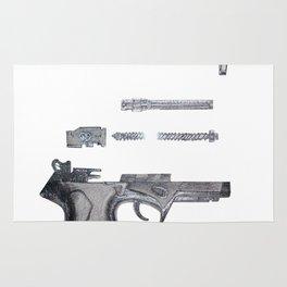 Cupid's Gun Rug