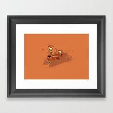 Grains Framed Art Print