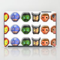 avenger iPad Cases featuring The Avenger Pixel by Aulia-pyon