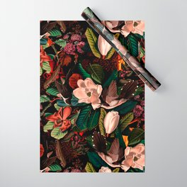 FLORAL AND BIRDS XIV Wrapping Paper