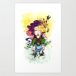 Aquarium I Art Print