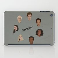 community iPad Cases featuring Community Simple by mycolour