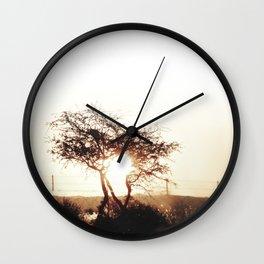 No Time Like The Present IIII Wall Clock