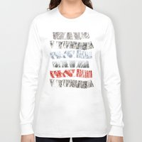 tape Long Sleeve T-shirts featuring Nature Tape by Monty
