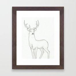 spirit guide Framed Art Print