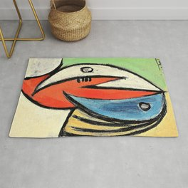 Pablo Picasso - Head - Digital Remastered Edition Rug