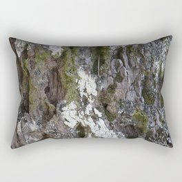 Old tree with character Rectangular Pillow