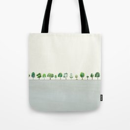 A Row Of Trees Tote Bag