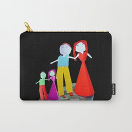 Dance me to the end of love | Kids Painting by Elisavet Carry-All Pouch
