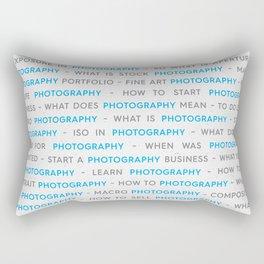 Photographers Poster Rectangular Pillow