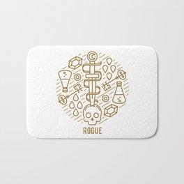 Rogue Emblem Bath Mat