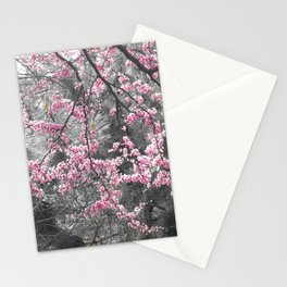 Under The Redbud Tree Stationery Cards