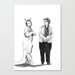 Your Mother Canvas Print