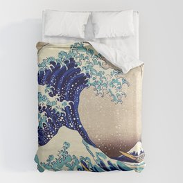 The Great Wave Off Kanagawa Bettbezug
