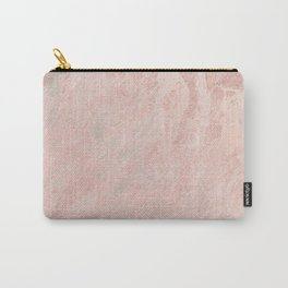 Rose Gold Foil Carry-All Pouch