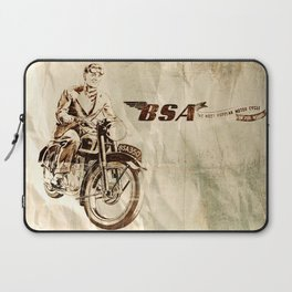 BSA - Vintage Poster Laptop Sleeve