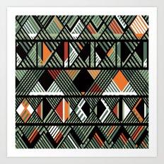 CHOMBO 4 mix Art Print