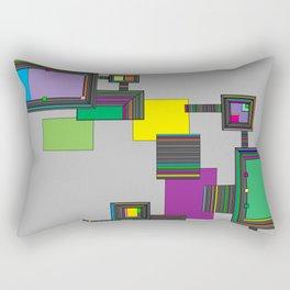 Amelia Panels Rectangular Pillow