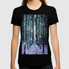 Magical Forest Lavender Aqua/Teal T-shirt