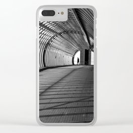 James Bond inspired II Clear iPhone Case