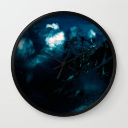 RUN before the DARKNESS gets YOU - Dark Sky/Clouds in the Mountains #2 Wall Clock