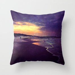 Walking on the dream... Throw Pillow