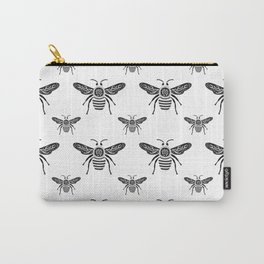 Royal Bee Pattern Carry-All Pouch