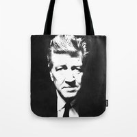 lynch Tote Bags featuring Lynch by Ionic Slasher