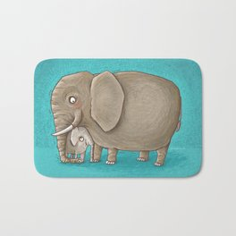 trunk nest Bath Mat
