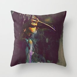 Miasma Throw Pillow