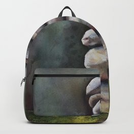 Cairns In A Clearing Backpack