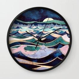 Moonlit Ocean Wall Clock