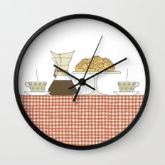 have a fika with me Wall Clock