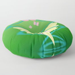 Magic Circle: Fluttershy Floor Pillow