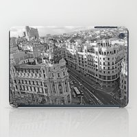 madrid iPad Cases featuring Madrid by Cristina Serrano