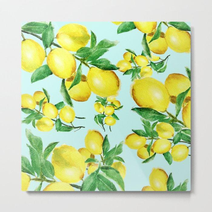 lemon 2 Metal Print