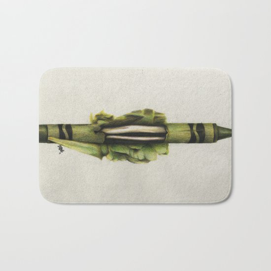 To The Core: Green Bath Mat