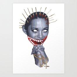 Saint Marion (Solo) Art Print