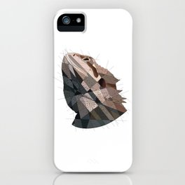 Geometric Dragon iPhone Case
