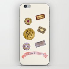 biscuits for tea time iPhone & iPod Skin