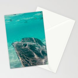 Sting Ray in Clear Water Stationery Cards