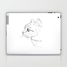 cat face Laptop & iPad Skin