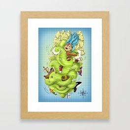 Ana e o Mar Framed Art Print