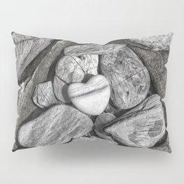 Stone Heart Pillow Sham