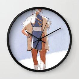 Chun-Li Wall Clock