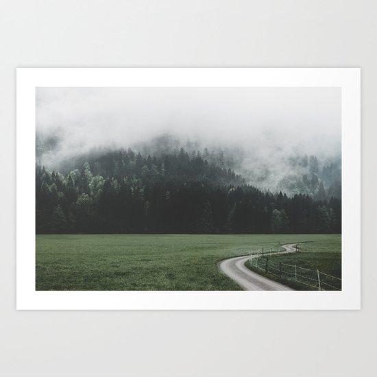 road - Landscape Photography Art Print