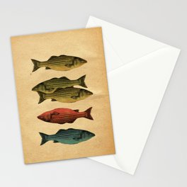 One fish Two fish... Stationery Cards